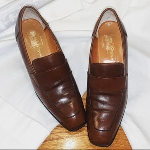 Robert Clergerie Brown Loafers in a size 7 1/2